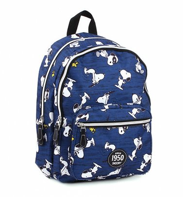 Blue Snoopy Backpack