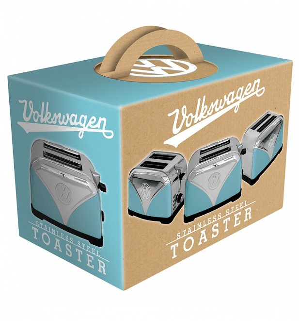 Mini Toaster For Camper ~ Blue volkswagen campervan toaster