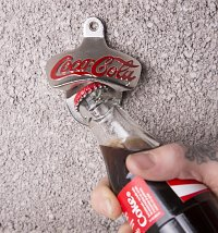 Coca-Cola Wall Mounted Bottle Opener