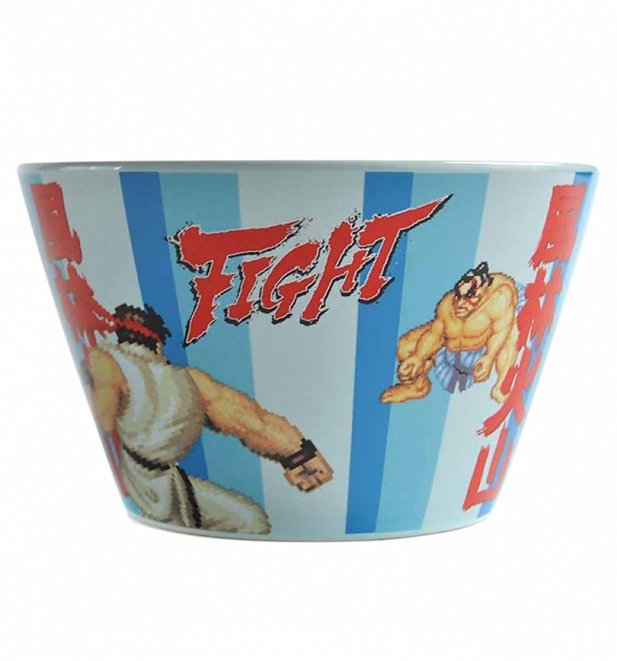 Boxed Street Fighter E Honda Bowl