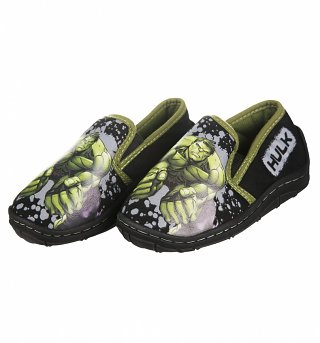 Boys Avengers Hulk Slippers