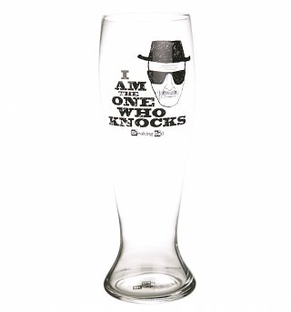 Breaking Bad I Am The One Who Knocks Giant Beer Glass