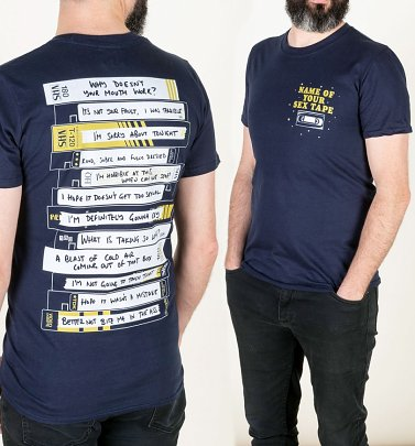 Brooklyn Nine-Nine Inspired Name Of Your Sex Tape Navy T-Shirt