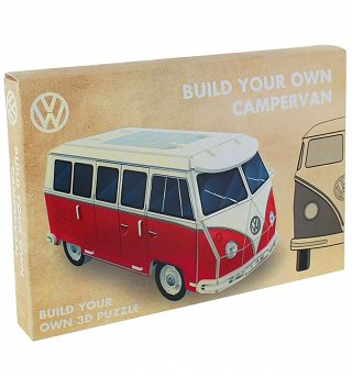 Build Your Own 3D VW Campervan