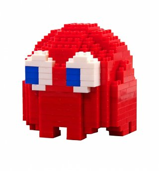 Build Your Own Red Blinky PAC-MAN Ghost Pixel Bricks