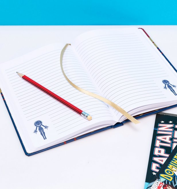 Captain Marvel Notebook