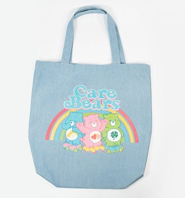 Care Bears Denim Tote Bag from Unique Vintage