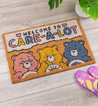 Care Bears Welcome To Care-a-Lot Door Mat