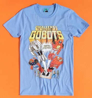Challenge Of The GoBots Blue T-Shirt