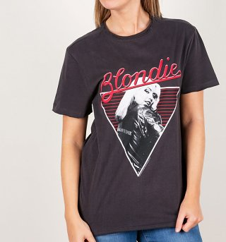 Charcoal Blondie '74 T-Shirt from Amplified