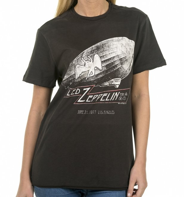 Charcoal Led Zeppelin Dazed & Confused T-Shirt from Amplified