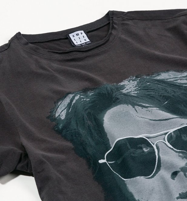 Charcoal The Doors Mr Mojo Risin' T-Shirt from Amplified