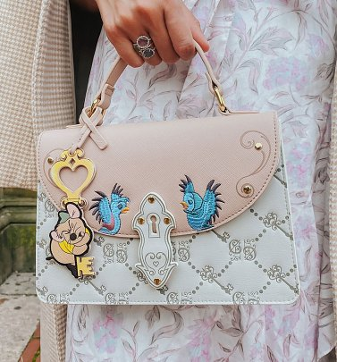 Cinderella Gus Gus Monogram Disney Crossbody Bag from Danielle Nicole