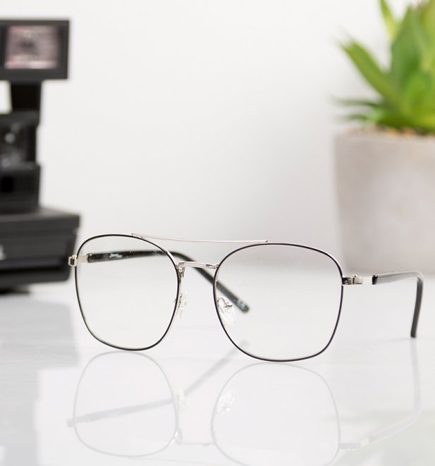 Clear Aviator Glasses from Jeepers Peepers