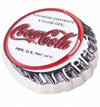 Coca-Cola Coke Bottle Cap Enamel Pin Badge from Hype