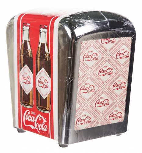 Coca-Cola Diner Style Napkin Dispenser