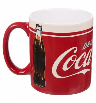 Coca-Cola Red and Cream Boxed Mug