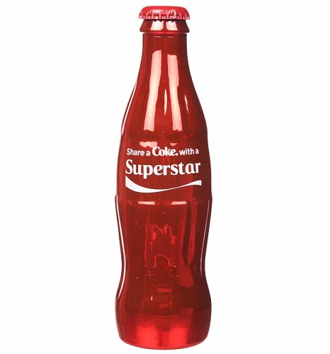 Coca-Cola Share A Coke With A Superstar Full Size Contour Bottle