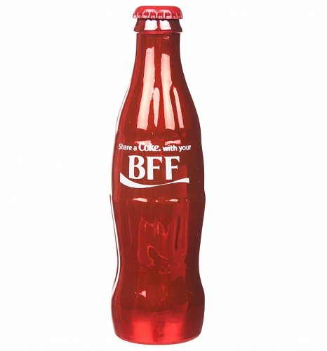 Coca-Cola Share A Coke With Your BFF Full Size Contour Bottle