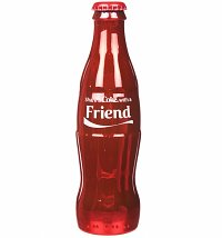 Coca-Cola Share A Coke With Your Friend Full Size Contour Bottle