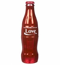Coca-Cola Share A Coke With Your Love Full Size Contour Bottle