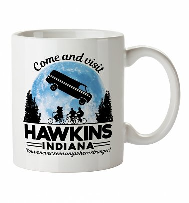 Come And Visit Hawkins Indiana Stranger Things Inspired Boxed Mug