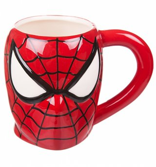 Comic Burst 3D Spider-Man Mug