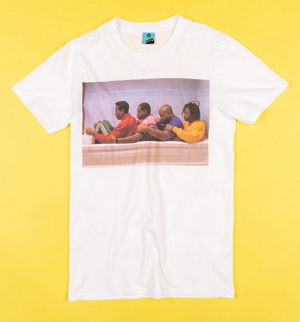 Cool Runnings Scene White T-Shirt