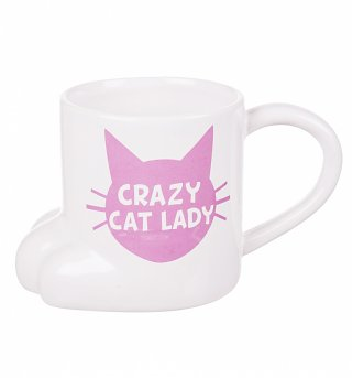 Crazy Cat Lady Paw Detail Mug