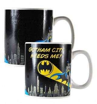 DC Comics Batman Gotham City Heat Changing Mug