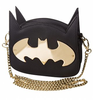 DC Comics Batman Gotham Gold Cross Body Bag