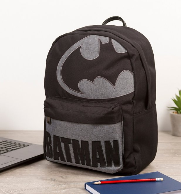 DC Comics Batman Woven Backpack