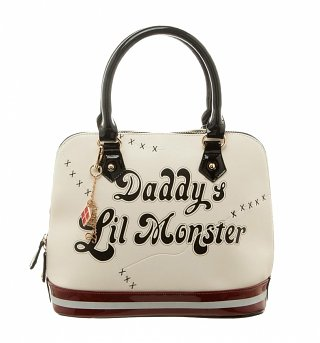 DC Comics Harley Quinn Daddy's Lil Monster Dome Handbag