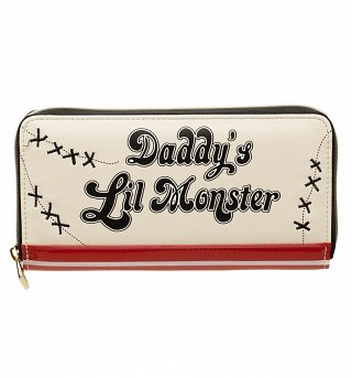 DC Comics Harley Quinn Daddy's Lil Monster Wallet