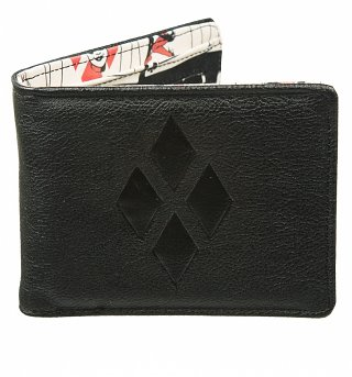 DC Comics Harley Quinn Masked Menace Wallet