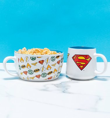 DC Comics Logos Breakfast Set
