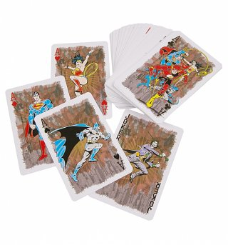 DC Comics Superheroes Playing Cards