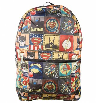DC Comics Vintage Print Backpack
