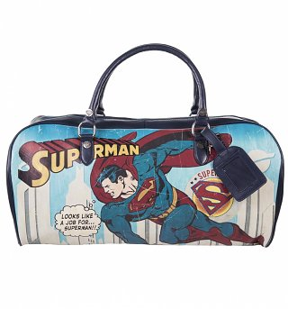 DC Comics Vintage Superman Weekend Bag