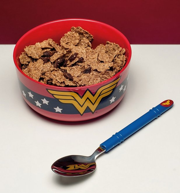 DC Comics Wonder Woman Breakfast Set