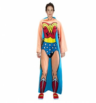 DC Comics Wonder Woman Costume Fleece Snuggler
