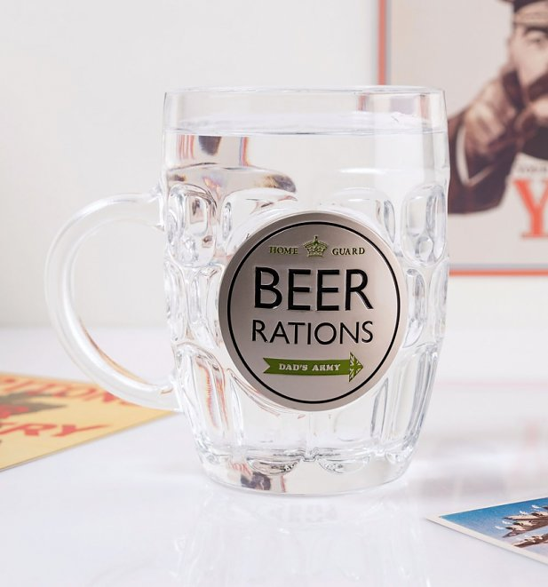 Dad's Army Beer Rations Tankard