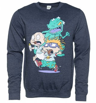 Dark Blue Marl Rugrats Chase Sweater
