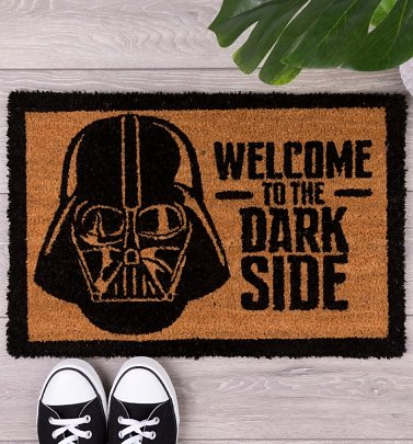 Darth Vader Star Wars Welcome To The Dark Side Door Mat