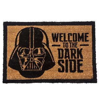 Darth Vader Welcome To The Dark Side Door Mat