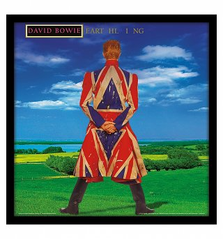 "David Bowie Earthling 12"" Album Cover Print"