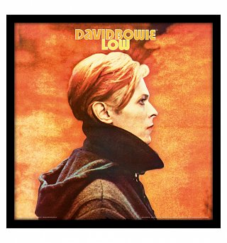 "David Bowie Low 12"" Album Cover Print"