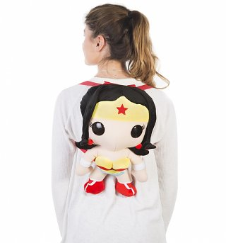Dc Comics Wonder Woman Plush Backpack