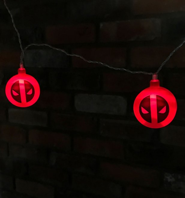 Deadpool Marvel 3D String Lights