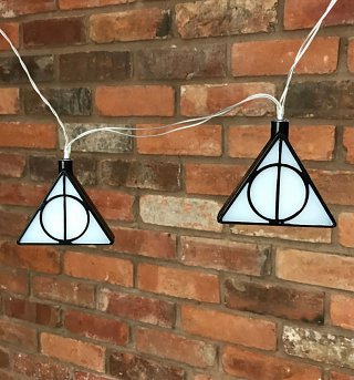 Deathly Hallows Harry Potter 3D String Lights
